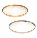 Annieglass Mod 12.5 Large Round Plate Gold