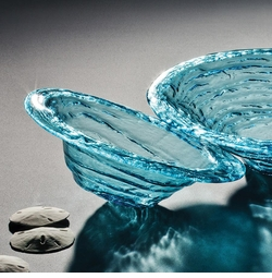 Annieglass Ultramarine Coastal Glass Collection
