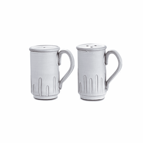Arte Italica Bella Bianca Tall Salt and Pepper