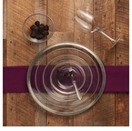 Arte Italica Eleganza Glass & Pewter Dinnerware Collection
