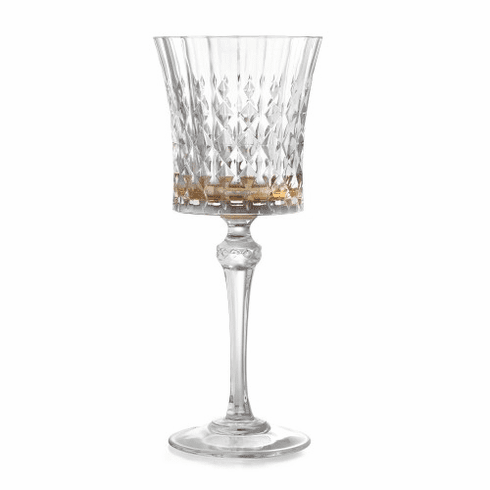 Arte Italica Serena Amber Water Glass (New)