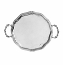 Arte Italica Vintage Scalloped Tray with Handles