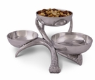 Arthur Court Antler 3 Tiered Bowl Server