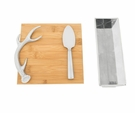 Arthur Court Bamboo Cheese Set - Antler