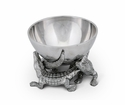 Arthur Court Bowl Elevated 5.5 inch - Alligator