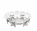 Arthur Court Butterfly Stand With 16 inch Acrylic Bowl