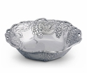 Arthur Court Designs Grape 12 inch Bowl with Fretwork