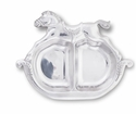 Arthur Court Divided Plate - Rocking Horse