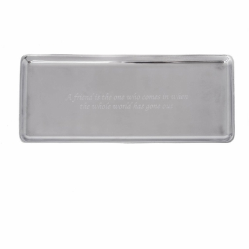 Arthur Court Engravable Oblong Tray