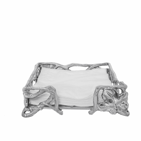 Arthur Court Grape Open Vine Napkin Box