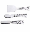 Arthur Court Holly Cheese Knives Set / 3