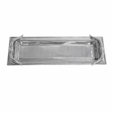 Arthur Court Longhorn Oblong Tray