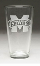 Arthur Court Miss State Pub Glasses Set of 4