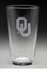 Arthur Court Oklahoma Pub Glasses Set of 4