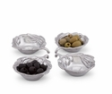 Arthur Court Sauce Bowls - Olive Set of 4