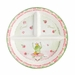 Baby Cie Bravo Encore - Round Textured Sectioned Plate