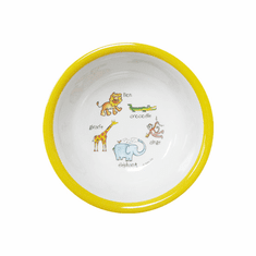 Baby Cie Jungle Melamine Child's Suction Bowl