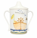 Baby Cie L'Aventure Attend 'Adventure Awaits' - Textured Sippy Cup