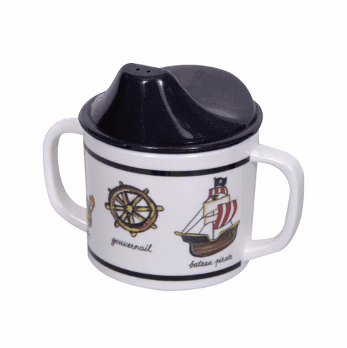 Baby Cie Pirate Melamine Child's Sippy Cup