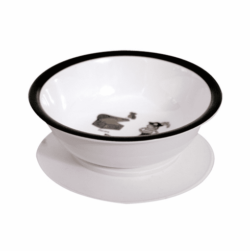 Baby Cie Pirate Melamine Child's Suction Bowl