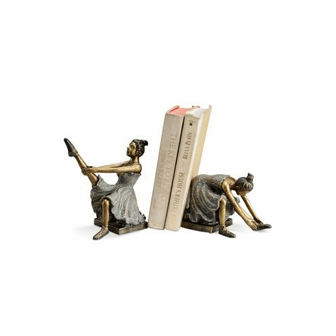 Ballerina Students Bookends by SPI Home