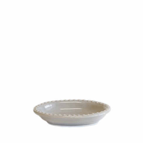 Barr Co Pewter Beaded Soap Dish