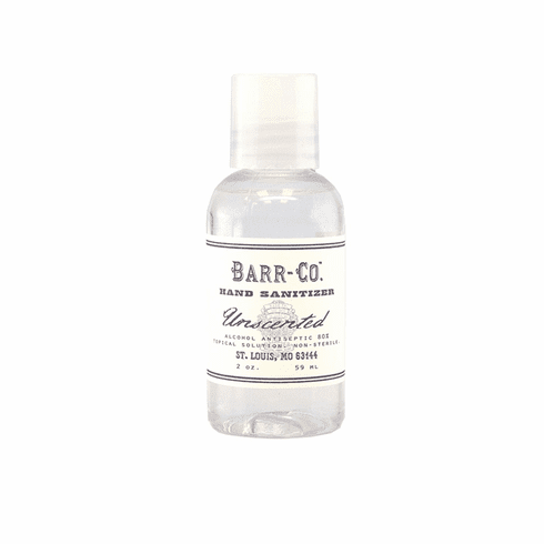 Barr Co Unscented Hand Sanitizer 2 oz