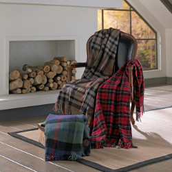Birchwood Trading Wool Throws and Accessories