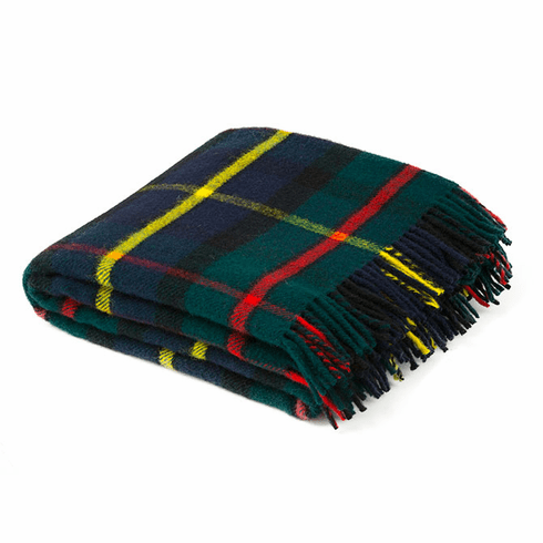 Birchwood Wales Hunting Mcleod  New Wool Throw