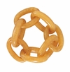 Bodrum Chain Link Gold Napkin Rings 4 Pack