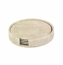 Bodrum Luster Birch Boxed Coaster Set of 4
