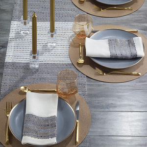 Bodrum Odyssey Rose Gold Table Linens