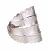 Bodrum Palm Silver Napkin Ring (Set of 4)
