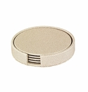 Bodrum Skate Pearl Round Boxed Coaster (Set of 4)