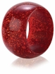 Bodrum Sparkles Ruby Napkin Rings 4 Pack