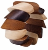 Bodrum Tricolor Cocoa Napkin Rings 4 Pack