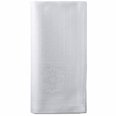 Bodrum Villa White 20 Napkins Set of 4