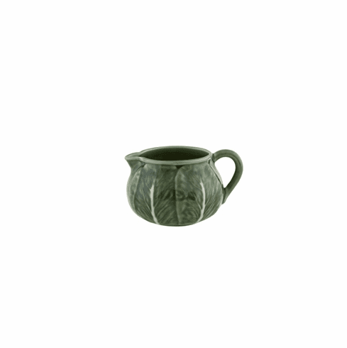 Bordallo Pinheiro Vista Alegre Cabbage Creamer - Green