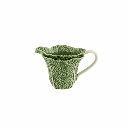 Bordallo Pinheiro Vista Alegre Cabbage Pitcher Green