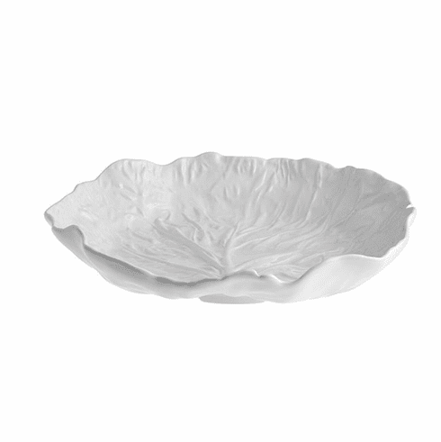 Bordallo Pinheiro Vista Alegre Cabbage Salad Bowl Large - Beige