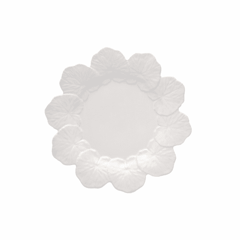 Bordallo Pinheiro Vista Alegre Geranium Dinner Plate - White