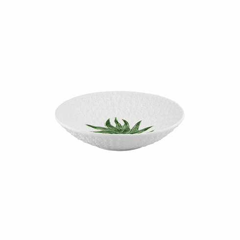 Bordallo Pinheiro Vista Alegre Pineapple Salad Bowl - White