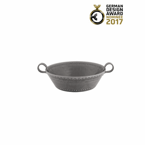 Bordallo Pinheiro Vista Alegre Rua Nova Salad Bowl Medium - Anthracite