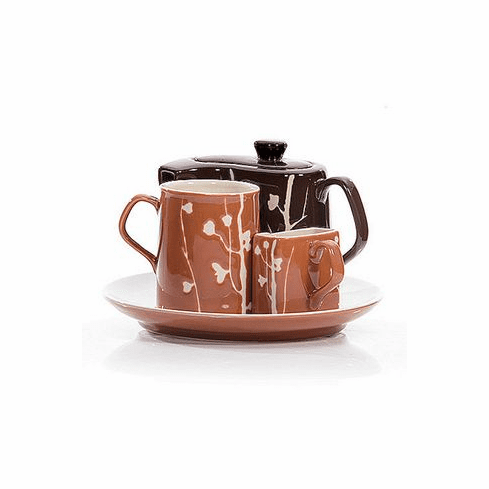Branches Tea or Coffee Service for One Set by Hues & Brews