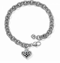 Brighton Alcazar Heart Drop Bracelet