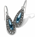Brighton Alice French Wire Earrings Silver-Blue