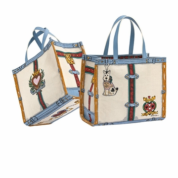 Brighton In Love we Trust Tote Bag - Free with $125 Brighton Purchase!