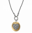 Brighton Anatolia Heart Reversible Long Necklace