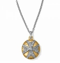 Brighton Anatolia Infinity Reversible Cross Necklace