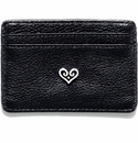 Brighton B Wishes Card Case Black